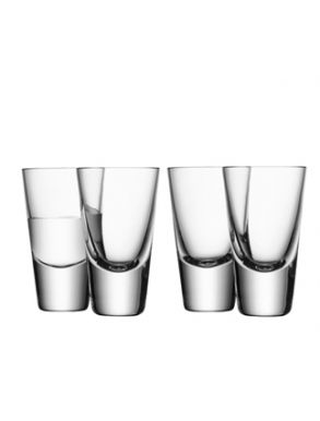 LSA Bar Collection Shot Glasses - 100ml (Set of 4) Gift Box