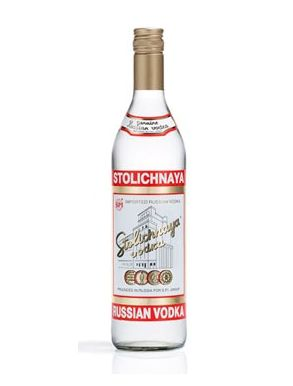 Stolichnaya Imported Russian Vodka 70cl