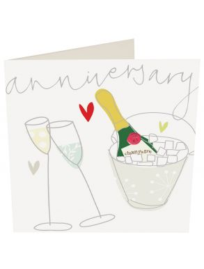 Anniversary Champagne Ice Bucket Gift Card