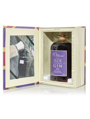 Chase Distillery Williams Aged Sloe & Mulberry Gin Book Box 50cl