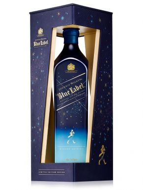 Johnnie Walker Scotch Whisky Blue Label Winter Edition 70cl