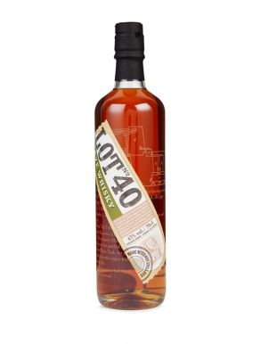 Lot No 40 Rye Whisky 70cl