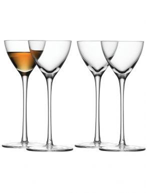 LSA Bar Collection Liqueur Glasses - 100ml (set of 4)