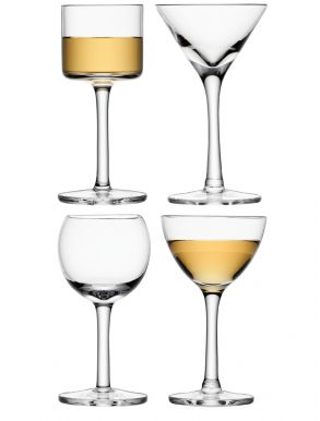 LSA Lulu Liqueur Glasses - 60ml (Set of 4)