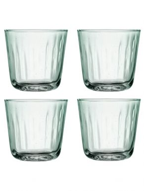 LSA Mia Recycled Glass Tumblers 250ml (Set of 4)
