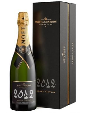 Moet & Chandon Grand Vintage Champagne 2012 75cl Gift Box
