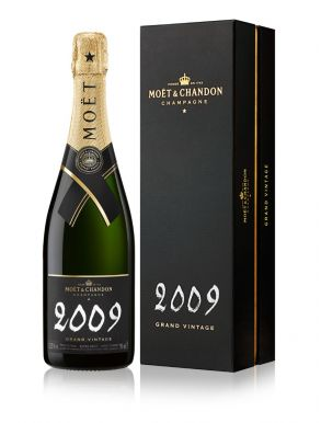 Moet & Chandon Grand Vintage Champagne 2008 Gift Box 75cl