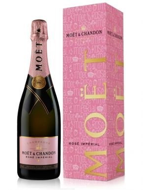 Moet & Chandon Rose Brut Imperial Champagne NV 75cl Decare Your Love