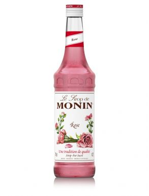 Monin Rose Syrup 70cl