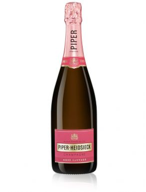 Piper Heidsieck Champagne Brut Rose Sauvage NV 75cl