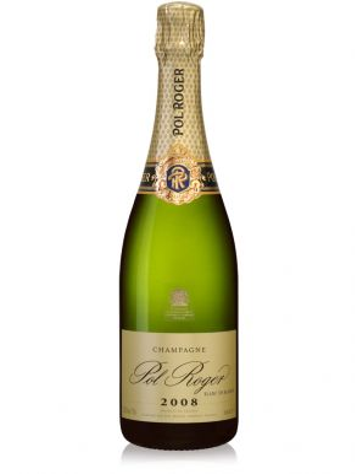 Pol Roger Blanc de Blancs 2008 Vintage Champagne 75cl