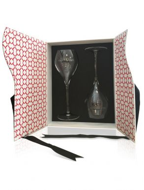 Taittinger Premium Champagne Flutes Gift Box (Set of 2)