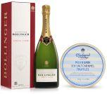 Bollinger Special Cuvée Brut Champagne 75cl & Sea Salt Truffles 510g