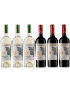 Caliterra Red & White Reserva Wine Case Deal 6 x 75cl