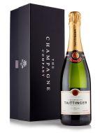 Taittinger Brut Reserve Champagne 75cl Luxury Gift Box
