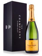 Veuve Clicquot Brut Champagne 75cl Luxury Gift Box