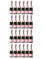 Lanson Rosé Label Mini Champagne 20cl x 24 Case Deal