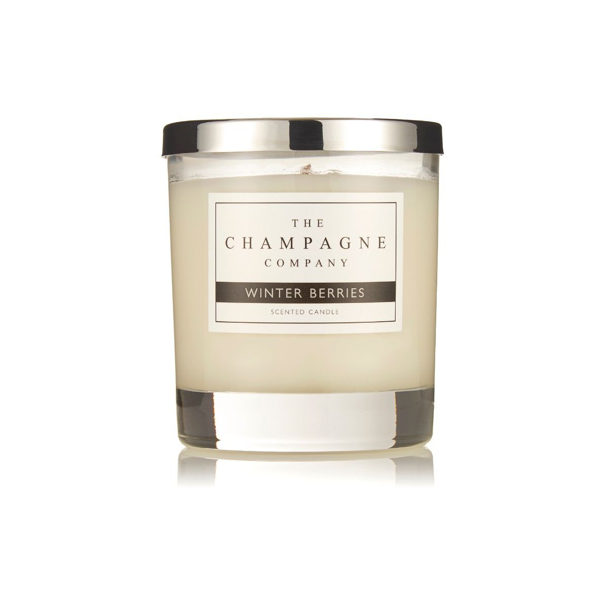 The Champagne Company Winter Berries Home Candle 200g