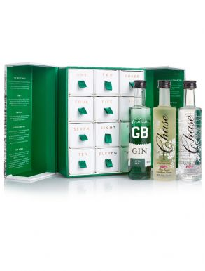 Chase Distillery 12 Festive Single Estate Spirits Gift Set 12x5cl