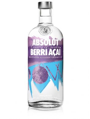 Absolut Berri Acai Vodka 70cl