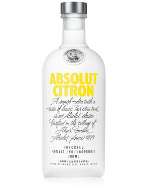 Absolut Citron Vodka 70cl