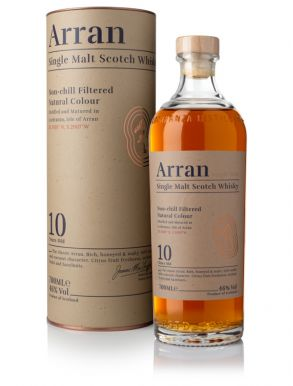 Arran 10 Year Old Whisky 70cl
