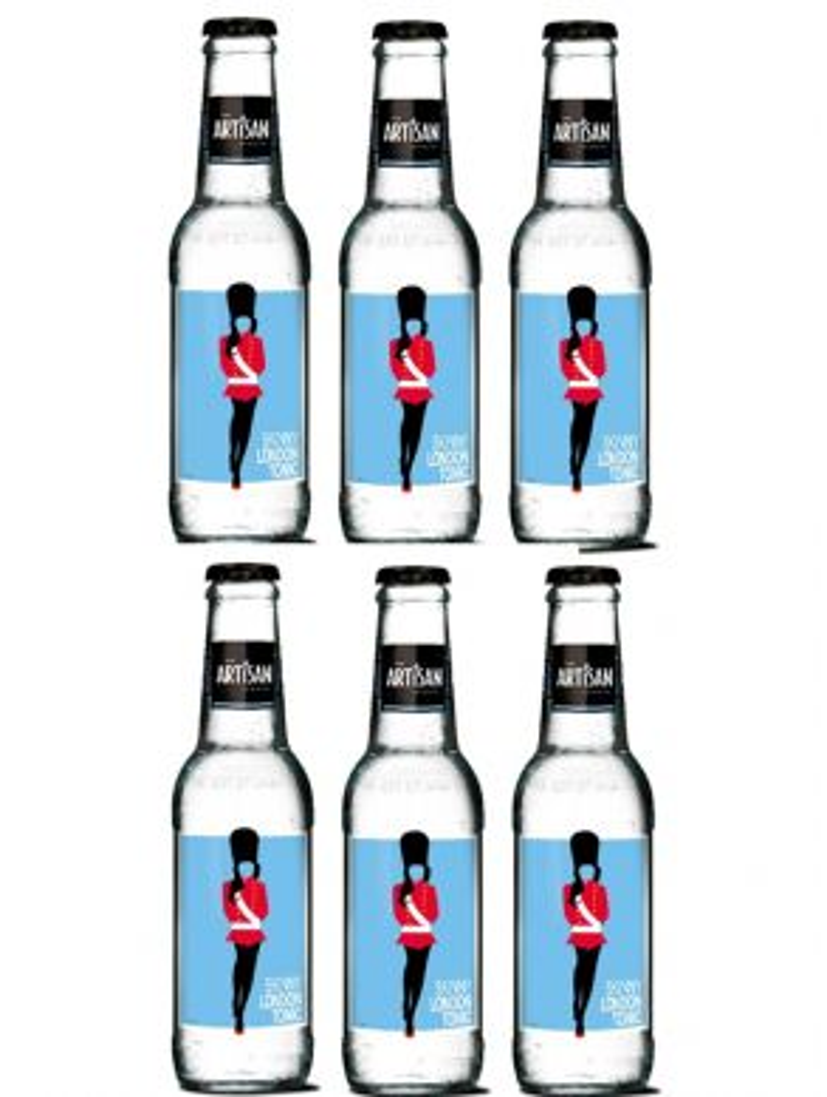Artisan Skinny London Tonic Water 20cl x 6 Bottles