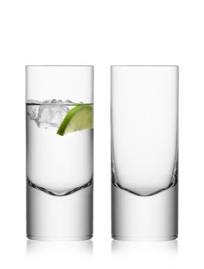 LSA Boris Highball Mixer Glasses - 360ml (Set of two) Gift Box