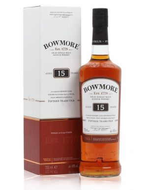 Bowmore 15 year old Darkest Islay Single Malt Scotch Whisky 70cl
