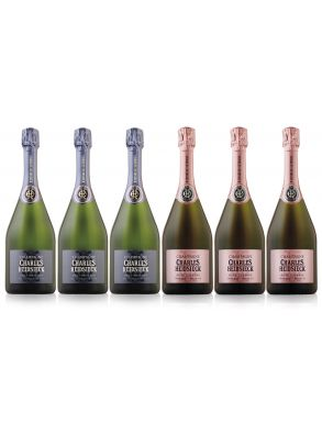 Charles Heidsieck Champagne Collection Case Deal 6x75cl
