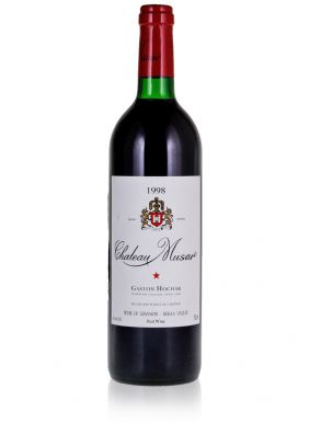 Chateau Musar 1998 Bekaa Valley Lebanon Red Wine 75cl
