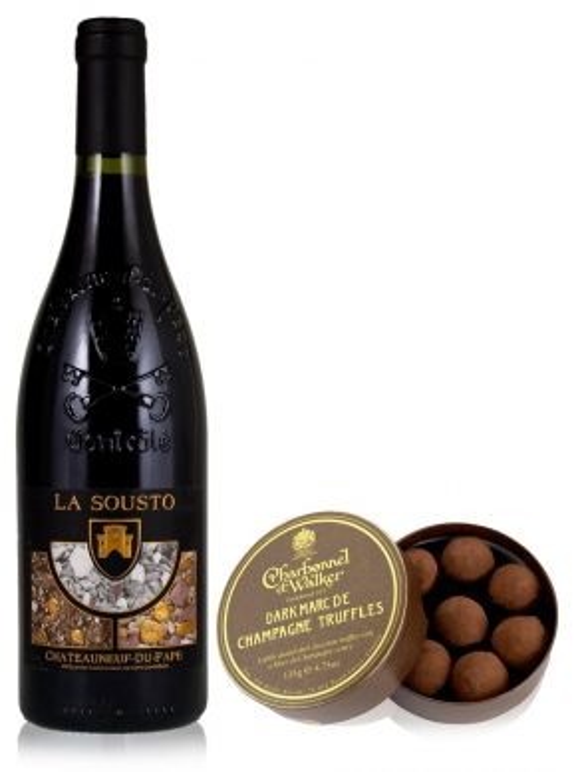Chateauneuf Du Pape La Sousto & Dark Truffles 135g