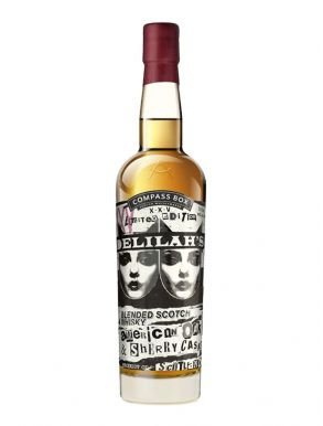 Compass Box Whisky Delilahs Limited Edition Blended Scotch Whisky 70cl