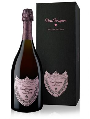 Dom Perignon Rose 2002 Vintage Champagne 75cl Gift Boxed