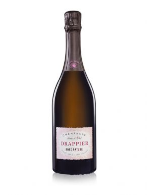 Drappier Brut Nature Rose Champagne NV 75cl