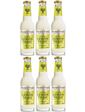 Fever-Tree Lemon Tonic 20cl x 6 bottles