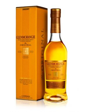 Glenmorangie 10 Year Old Single Malt Whisky 37.5cl Gift Box