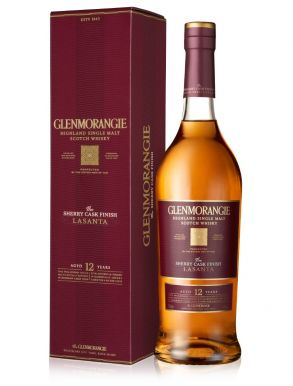Glenmorangie Lasanta 12 Year Old Highland Whisky 70cl Gift Box