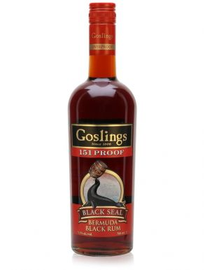 Gosling's Black Seal Bermuda Black Rum 151 Proof 70cl