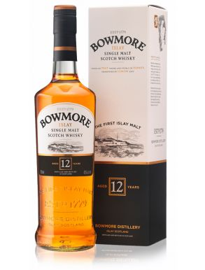 Bowmore 12 year old Islay Single Malt Scotch Whisky 70cl