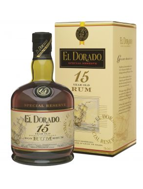 El Dorado Rum 15 Years Old 70cl
