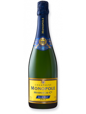 Heidsieck & Co. Monopole Brut Champagne Blue Top NV 75cl