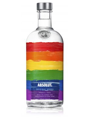 Absolut Rainbow Colours Limited Edition Vodka 70cl
