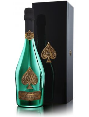 Armand de Brignac Limited Edition Green Bottle Champagne NV 75cl