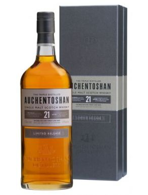 Auchentoshan 21 Year Old Whisky Gift Box