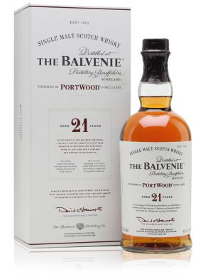 The Balvenie 21 Year Old Port Wood Scotch Whisky 70cl