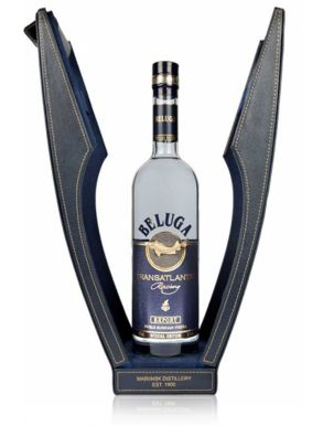 Beluga Transatlantic Racing Vodka Gift Case 70cl