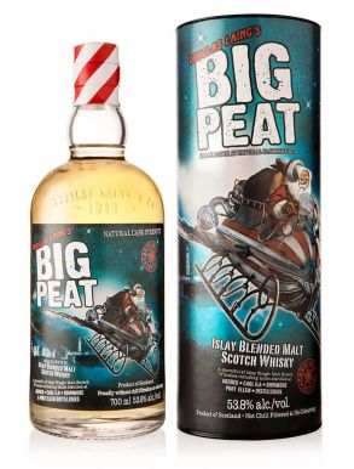 Douglas Laing Big Peat Christmas Edition Gift Tube 70cl