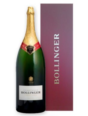 Bollinger Salmanazar Special Cuvée Champagne 900cl NV Red Gift Box