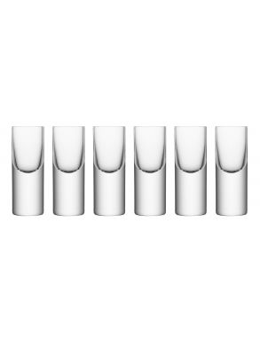 LSA Boris Vodka Shot Glasses - 50ml (Set of 6)